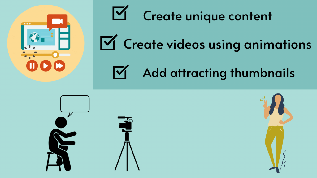 Create good content - create a youtube channel