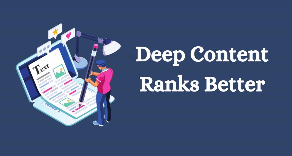 Deep content ranks better