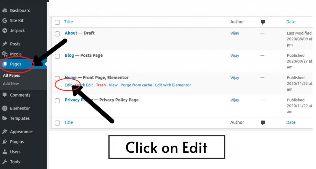 How to write blog description ? - step 1