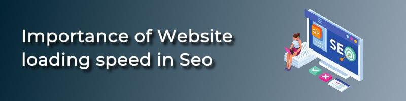 WordPress website loading speed importance in SEO