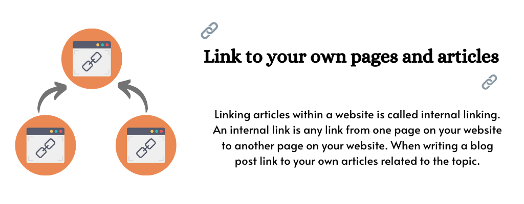 Internal Link - On page SEO for new website