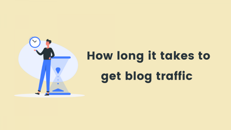 How long does it take for a new website to get traffic